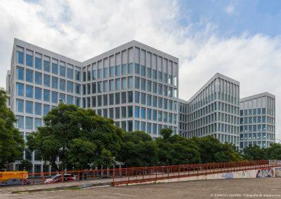 Edificio de oficinas en la calle Picasso