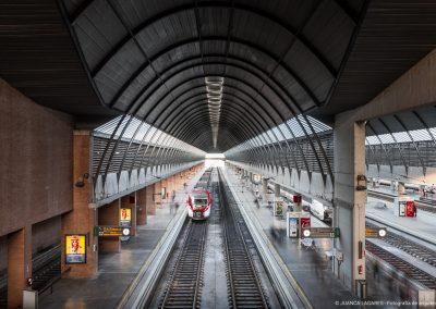 Estación de trenes Santa Justa