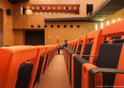 Rehabilitación del teatro España de La Palma del Condado realizado por el estudio MRPR Arquitectos