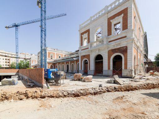 Proceso de obra: Rehabilitación del Mercado «Puerta de la Carne» (Sevilla)