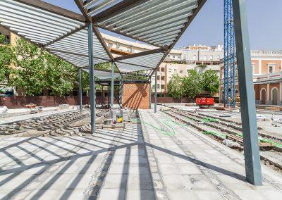 Rehabilitación de la antigua estación de Cádiz: mercado Puerta de la Carne, equipamiento deportivo y aparcamientos, Sevilla