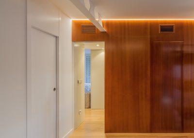 Reforma de un apartamento en el edificio Huerta del Rey