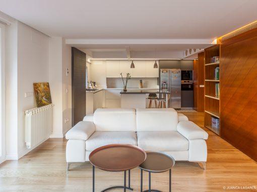 Reforma de una vivienda en el edificio Huerta del Rey