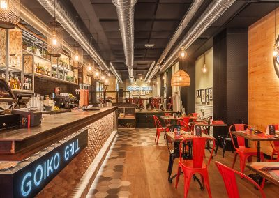 Nuevo restaurante Goiko Grill de la calle Albareda en Sevilla