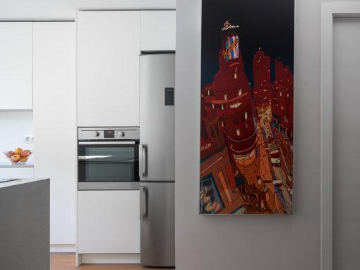 Cocina en una vivienda unifamiliar