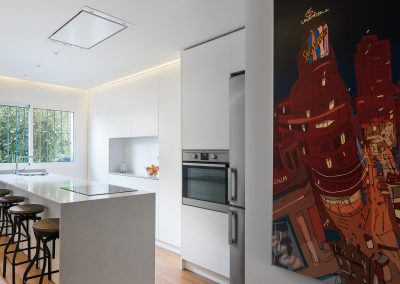 reforma de cocina en una vivienda unifamiliar en la avenida manuel siurot de sevilla realizada por cocinel-la