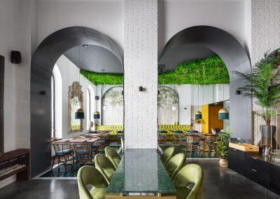 Restaurante LPA TheCulinaryBar en Ayamonte realizado por CM4 Arquitectos