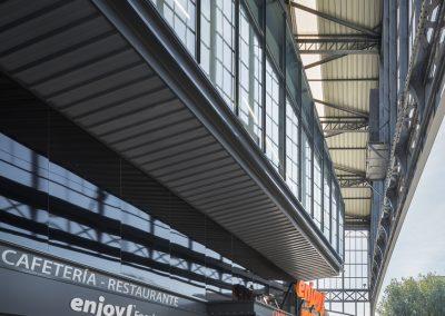 Rehabilitación de Antigua Estación de Cádiz y Mercado Puerta de la Carne