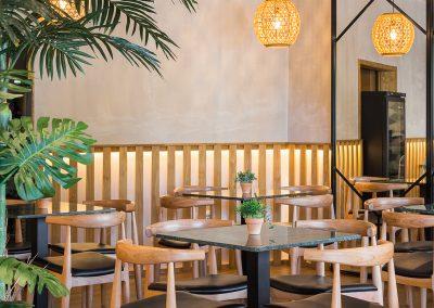 Restaurante Hermanos Ceballos en Sevilla este diseñado por CM4 Arquitectos