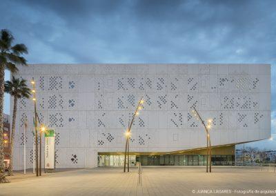 Palacio de la justifica de cordoba (palace of justice of cordoba) realizado por Mecanoo