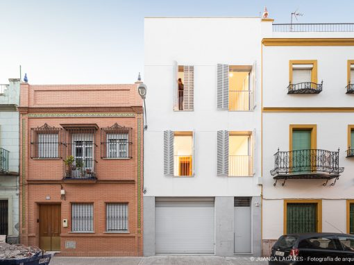 Casa CC. Vivienda unifamiliar en Sevilla.