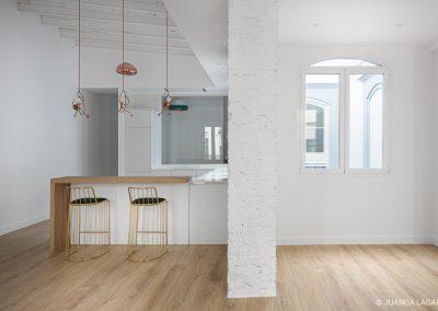 Reforma de una vivienda en la calle San Eloy de Sevilla realizado por EGION y Carlos Pedraza Arquitectos