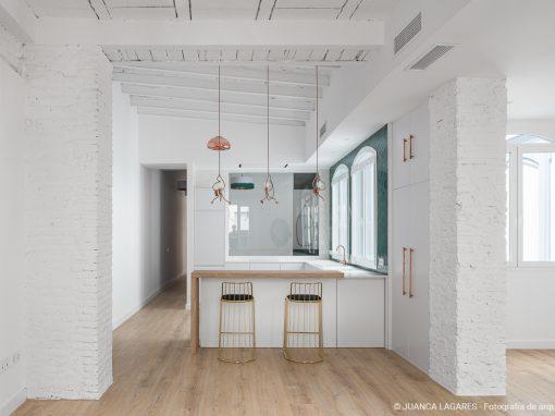 Vivienda E42. Reforma de una vivienda en Sevilla.