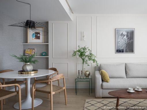 Diseño interior de un piso en Sevilla
