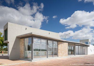 Sede de la ARP La Rampa en el Puerto de Santa Maria realizado por Prada y Navarro Arquitectos