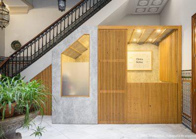 Reforma de la clinica Núñez en la calle Daoiz en Sevilla, diseñada por Las Vahi Arquitectura
